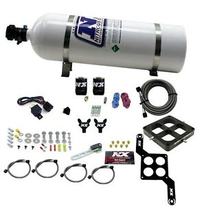 Nitrous Express 60047 15 Dominator Billet Crossbar Stage 6 2 15lb Bottle