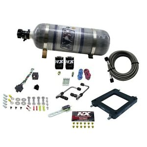 Nitrous Express 60570 12 Dominator Gemini Pro power With Composite Bottle