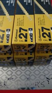 New Lot Of 6 Ramset 4rs27 Box 600 Loads 27 Cal Yellow Strip Loads 4rs27
