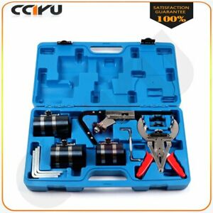 9pc Piston Ring Service Tool Set Auto Engine Cleaning Ring Expander Compressor