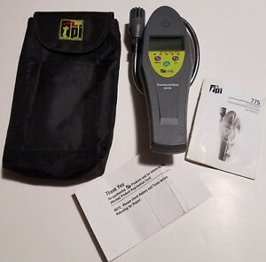 Tpi 775 Carbon Monoxide Ambient Co And Combustible Gas Leak Detector used
