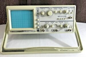 Ez Os 5060a Analog Oscilloscope 2 Channel Dual Trace 60mhz Tested Works