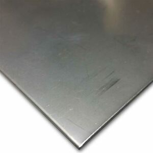 304 Stainless Steel Sheet 120 11 Ga X 12 X 24 2b Finish