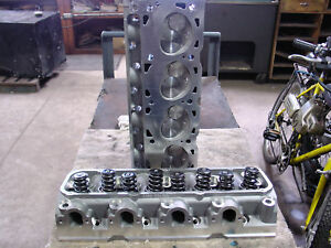 Ford 429 460 514 545 557 532 521 79cc Aluminum Cylinder Heads Roller Springs