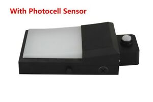 New Design With Photocell Sensor Mini Led Wall Pack 20 Watts 1 800lm
