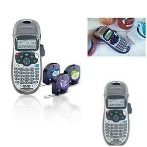 Portable Handheld Label Maker With 3 Bonus Letratag Labeling Tapes Compact New