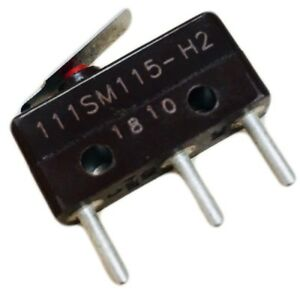 111sm115 h2 Micro Switch Honeywell Switch Snap Action N o n c Spdt Leaf Lever