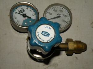 Linde Union Carbide Gas Pressure Regulator Sg 3570 15 3000 Max Psi In