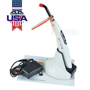 Original Woodpecker Wireless Dental Led Lamp Curing Light Led B Usa Stock