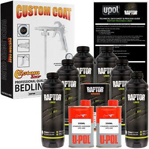 Raptor Tintable Urethane Spray on Truck Bed Liner Spray Gun 6 Liters