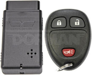 Dorman 99161 Keyless Entry Remote 3 Button Models Without Remote Start