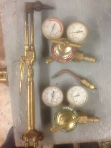 Oxygen Acetylene Torch Set