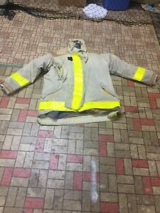Firefighter Gear Turnout Jacket Coat Morning Pride 50 32 Halloween