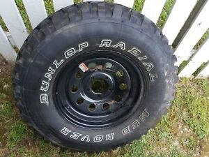 1 New 235 75 15 Dunlop Mud Rover With 5 Lug Rim