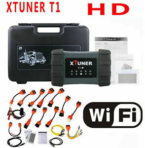 Xtuner T1 Hd Moduel Obd2 Auto Diagnostic Code Reader For Heavy Duty Diesel Truck