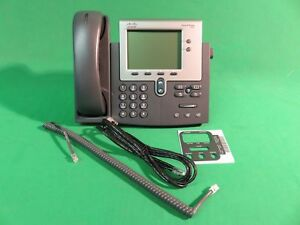 Nib Cisco Unified Ip Phone 7942g Poe Open Box
