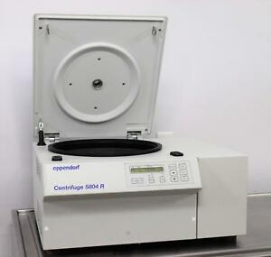 Eppendorf 5804r Refrigerated Benchtop Laboratory Centrifuge No Rotor