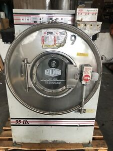 Milnor 35lb Front Load Washer Extractor E p Plus 3 Ph Pellerin