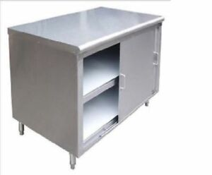 Commercial Stainless Steel Storage Dish Cabinet 14 X 72 Nsf