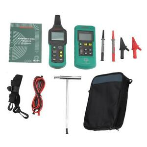 Ms6818 12 400v Ac dc Wire Cable Locator Metal Pipe Detector Tester Line Tracker