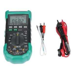 Mastech Ms8229 Auto range 5 in 1 Multi functional Digital Multimeter Probes Us