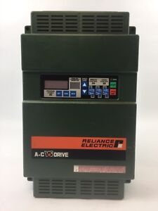 Reliance Electric 2gu41010 A c V s Drive Gp 2000 460 Vac 11 3kva 10 Hp 3 Phase