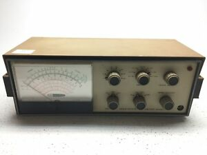 Heathkit Im 16 Solid State Voltmeter Tested Working Fair Condition