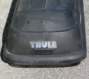 Thule Frontier Top Carrier Cargo Box With All Mounting Hardware Complete