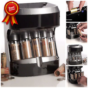 New Coin Counter Sorter Automatic Change Machine Money Roller Battery Operated