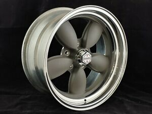 American Racing Mag Grey 200s 17 X 8 Vn402 Wheel 5 X 4 75 Bp 4 00 Bs