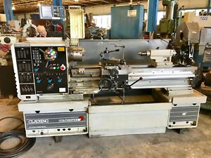 15 x50 cc Clausing Colchester Lathe 1998 In mm 3 Jaw Chuck 2 25 Hole
