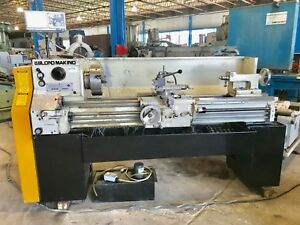 15 x54 cc Leblond Makino Lathe 1987 In mm 4 Jaw Chuck