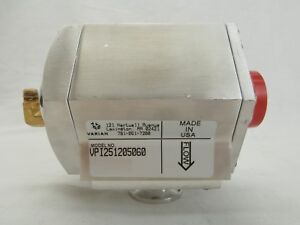 Varian Semiconductor Equipment Vpi251205060 Vacuum Pump Isolation Valve Used