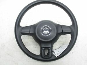 2011 2014 Jetta Steering Wheel With Air Bag No Controls No Balance Weight Mint