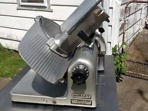 Hobart Meat Slicer 1612 Great Clean 12 In Slicer Looks And Runs Great Nice Deal