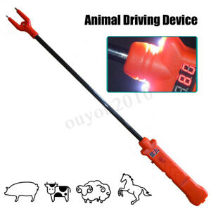 79cm Rechargeable Electric Livestock Cattle Pig Prod Safety Shock Prodder Farm