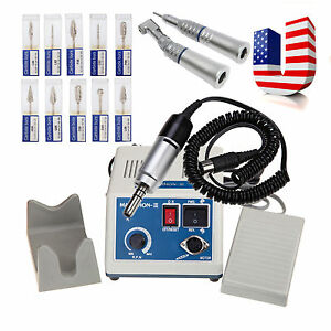 Usa Lab Marathon Electric Micro Motor Straight Handpiece Contra Angle drills