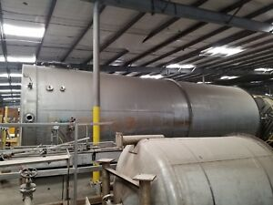 20000 Gallon 304 Stainless Steel Vertical Mix Tank