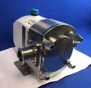 Hy line Hp440 1840 Hygienic Rotary Lobe Pump 1 1 2 Tri clamp Inlet outlet