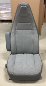 2016 2017 Chevy Express Gmc Savana Van Gray Cloth Lh Driver s Side Bucket Seat