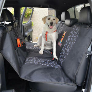 Dog Seat Cover Waterproof Rear Bench Protector For Pets Cat Animal Universal Fit