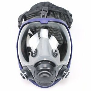 Full Face Gas Mask Anti Organic Gas Safety Mask For Industry Painting Spraying N