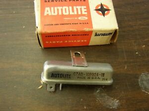 Nos Oem Ford 1967 1972 Mustang Galaxie Fairlane Seat Belt Lamp Relay 1968 1969