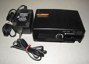 Motorola Rln5869b Amplified Charger For Minitor V 5 Pager
