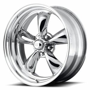 4 New 18x8 14 American Racing Custom Torq Thrust Ii Polished 5x127 Wheels Rims