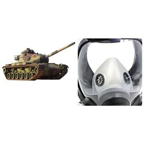 Full Face Chemical Mask Anti gas Mask Acid Dust Respirator Paint Filter Mask Ty