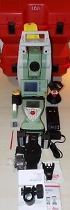 Leica Tcrp1205 R1000 Cs15 Robotic Total Station Calibrated Free Shipping