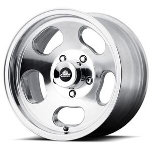 4 New 15x7 0 American Racing Ansen Sprint Polished 4x108 Wheels Rims