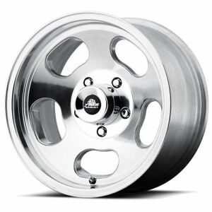 4 New 15x7 0 American Racing Ansen Sprint Polished 5x120 65 Wheels Rims