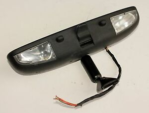01 06 Ford Mustang Chrysler Sebring Convertible Rear View Mirror W Lights oem